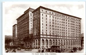 *1930s Mount Royal Hotel Montreal Canada Vintage Photo Postcard C74