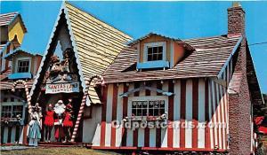 Putney, Vermont, VT, USA Postcard Santa's Land Unused