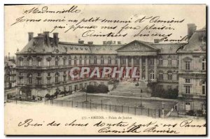 Old Postcard Amiens Courthouse