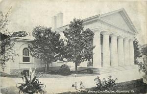 Arlington Virginia~Kids Playing Outside General Lee's Mansion 1911 B&W PC