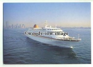 LN0217 - Hapag Lloyd Liner - C Columbus , built 1997 - postcard