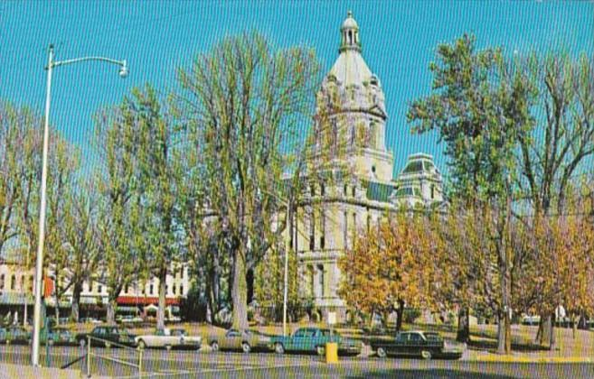 Indiana Rockville Parke County Court House 1969