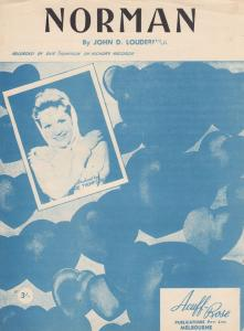 Loudermilk Sue Thompson 1960s Sheet Music