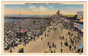 Coney Island, N.Y., Coney's Famous Boardwalk