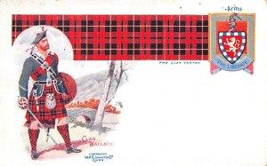 Clan Wallace Scotland, UK Unused