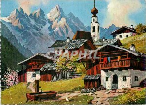 Postcard Modern Bergdorf Original Kothmair