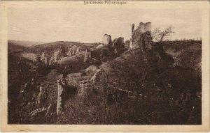 CPA CROZANT Vue d'Ensemble des Ruines de Crozant (1144276)