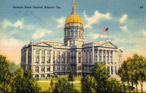 Georgia Atlanta State Capitol Building 1943