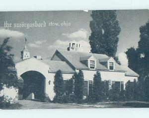 Pre-1952 RESTAURANT SCENE Stow - Near Cuyahoga Falls & Akron Ohio OH G8913