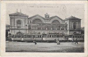 CPA Paris 15e - La Gare Montparnasse (57011)