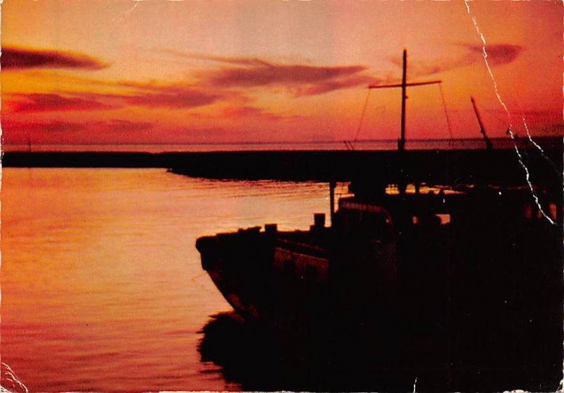 Kuwait, Sunset Kuwait Postal Used Unknown