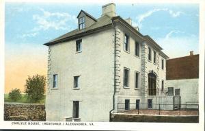 Carlyle House at Alexandria VA, Virginia - WB