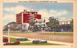 Park Avenue, Long Beach Long Island NY Unused