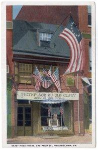 Philadelphia, Pa, Betsy Ross House, 239 Arch St.