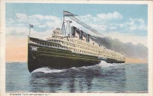 Steamer City Of Detroit III 1919 Curteich