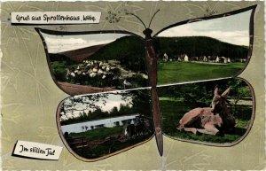 CPA AK Gruss aus Sprollenhaus GERMANY (1010312)