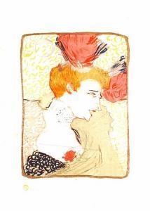 Henri de Toulouse Lautrec - Bust of Mademoiselle