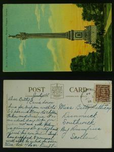 Brock's Monument Queenston heights 1936