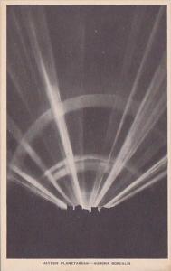New York Aurora Borealis Hayden Planetarium