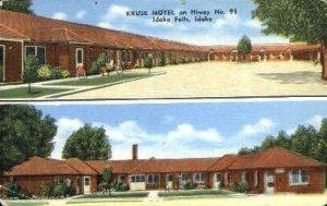 Kruse Motel - Idaho Falls , Idaho ID