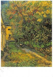 Kroller Muller Museum Vincent van Gogh The garden of St Paul's hospital