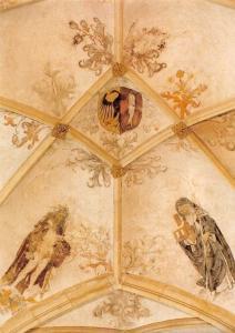 Netherlands Deventer Grote of Lebuinuskerk, Gewelfschildering