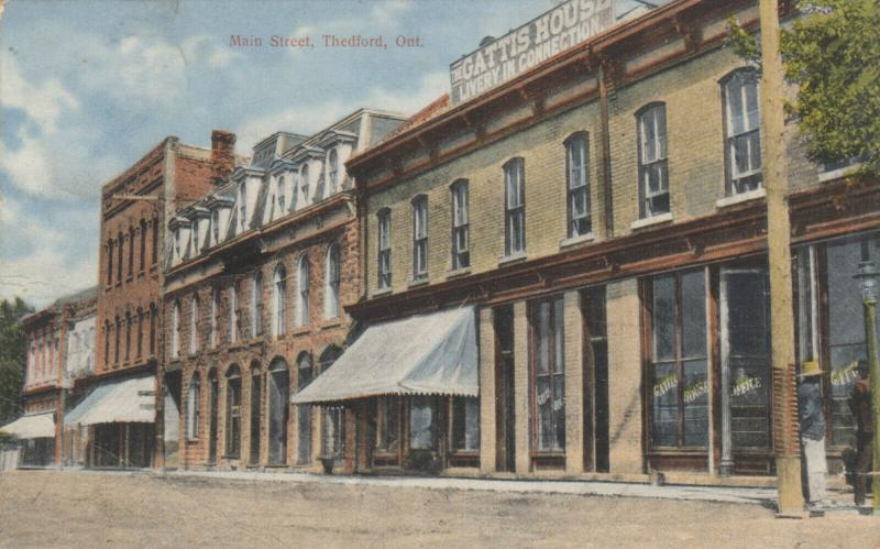 THEDFORD , Ontario , 1911 ; Main Street #2