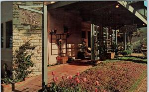 CARMEL, CA California    MONTE  VERDE  INN     c1950s  Roadside  Postcard