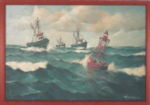 New England Fishing Trawlers
