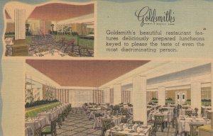 MEMPHIS, Goldsmith's Restaraunt, Tennessee, 30-40s #2