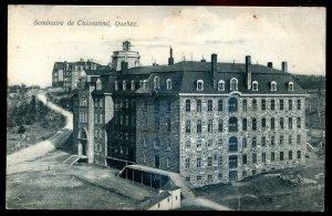 dc1077 - CHICOUTIMI Quebec Postcard 1910s Seminary by Cote