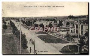 Old Postcard Camp de Mailly Camp Input Handling The Army