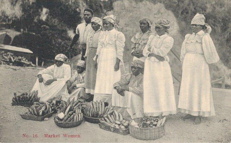 Jamaica Kingston Market Women 06.98