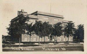 RP: KINSLEY , Kansas , 1900-10s ; High School