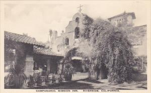 Campanario Mission Inn Riverside California Albertype