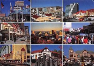 Namibia Windhoek ist die Hauptstadt Namibias, Market Place Promenade Panorama
