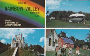 4-views,  Rainbow Valley,  Cavendish,  P.E. I.,  Canada,   40-60s