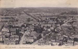 Vue Panoramique, LE MANS (Sarthe), France, 1900-1910s
