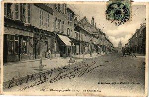 CPA Champagnole- La Grande Rue FRANCE- (1044290)