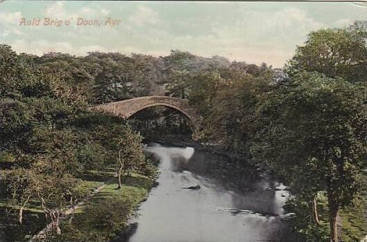 Scotland Ayr Auld Brigs o'Doon 1908