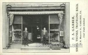 P.A. Garber, Shoes, Carlisle PA 1911