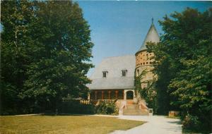 Henderson Kentucky~John James Audubon Memorial Auditorium~1950s Postcard