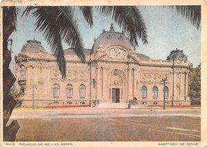 Palacio de Bellas Artes Santiago Republic of Chile Postal Used Unknown