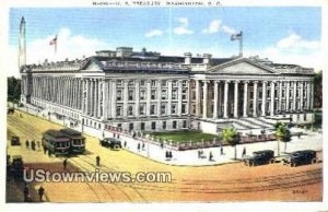 US Treasury - District Of Columbia Postcards, District of Columbia DC Postcard