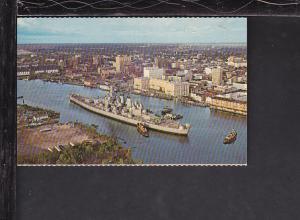 USS North Carolina Postcard