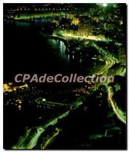 Modern Postcard Monte Carlo Vue Generale Night