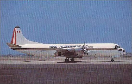AERO TRANSPORTE SA LOCKHEED L-188CF ELECTRA III