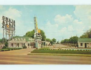 Unused Pre-1980 ALAMO PLAZA MOTEL Nashville Tennessee TN u0103-12