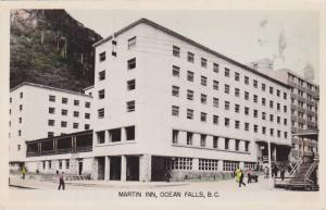 RP: OCEAN FALLS , B.C. , Canada , 30-40s ; Martin Inn