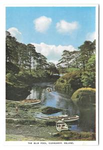 Ireland County Cork Glengariff The Blue Pool Vtg Irish Postcard 4X6